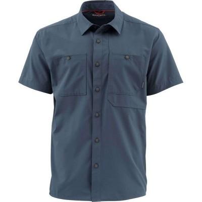 シムズ メンズ シャツ トップス Double Haul Short-Sleeve Shirt