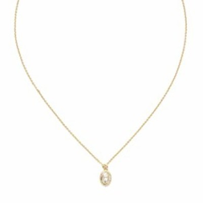 Sorrelli Maisie Pendant Necklace, Bright Gold-Tone Finish, Crystal