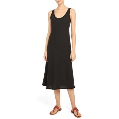 セオリー レディース ワンピース トップス Spring Linen Scoop-Neck Tank Dress
