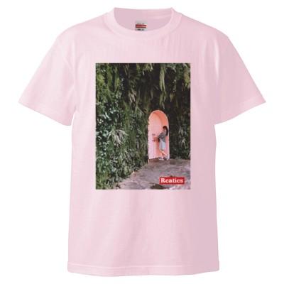 謎の森とドア編【韓国】(Tシャツ)(カラー : ライトピンク, サイズ : S)