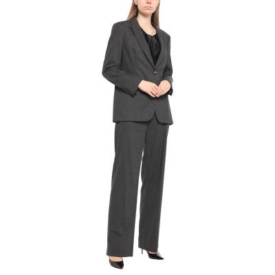 SEVENTY SERGIO TEGON レディーススーツ 鉛色 46 ポリエステル 34% / レーヨン 33% / ウール 32% / ポリウレ