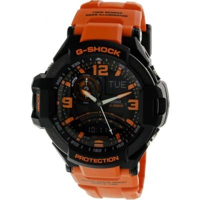 カシオ Gショック スカイコックピット メンズ クオーツ 腕時計 GA-1000-4A オレンジ 並行輸入品