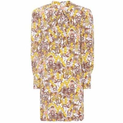 クロエ Chloe レディース ワンピース ワンピース・ドレス printed crepe dress Multicolor Whit