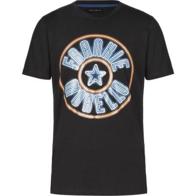 フランキーモレロ FRANKIE MORELLO メンズ Tシャツ トップス t-shirt Black