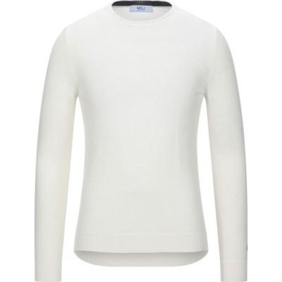 MQJ メンズ ニット・セーター トップス sweater Ivory