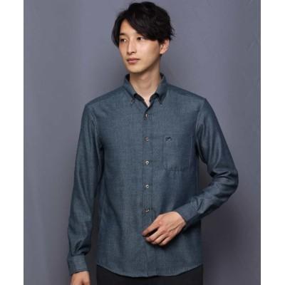 【アー・ヴェ・ヴェ】 サンライトキモウシャツ[WEB限定サイズ] メンズ グリーン S a.v.v