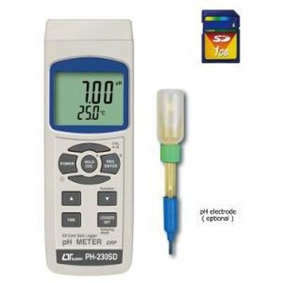 デジタルPHメーター PH-230SD ph測定器 ペーハー測定器 水質測定器 計測器 測定器 マザーツール