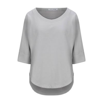 EUROPEAN CULTURE スウェットシャツ グレー M コットン 95% / ポリウレタン 5% スウェットシャツ