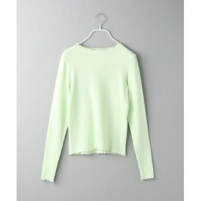 tシャツ Tシャツ 【e/rm】ワッフルフリルプルオーバー 937325