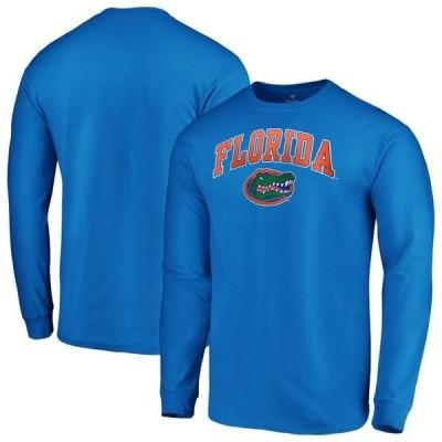 ユニセックス スポーツリーグ アメリカ大学スポーツ Florida Gators Fanatics Branded Campus Long Sleeve T-Shirt - Royal Tシャツ