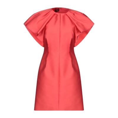 ジャンバティスタ ヴァリ GIAMBATTISTA VALLI ミニワンピース&ドレス レッド 40 ポリエステル 85% / シルク 15% ミニ