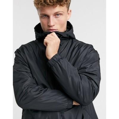 ブレイブソール ジャケット メンズ Brave Soul trench jacket in black  エイソス ASOS sale ブラック 黒