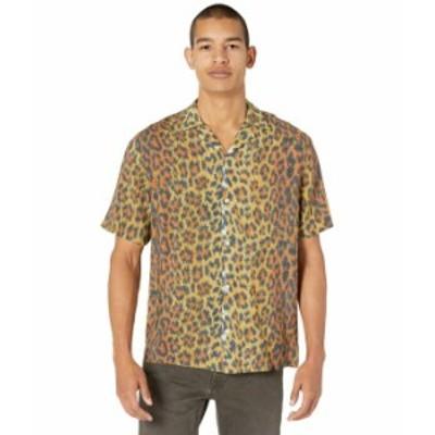 オールセインツ メンズ シャツ トップス Colt Short Sleeve Shirt Yellow