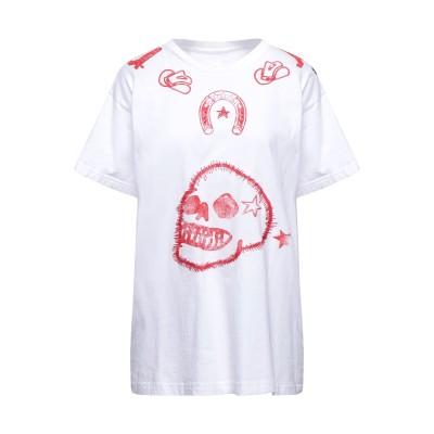 ジ・エディター THE EDITOR T シャツ ホワイト 40 コットン / ポリウレタン T シャツ