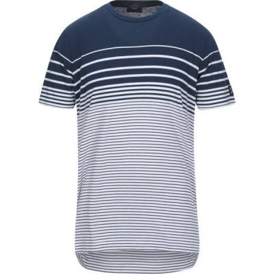 ポール シャーク PAUL & SHARK メンズ Tシャツ トップス t-shirt Blue