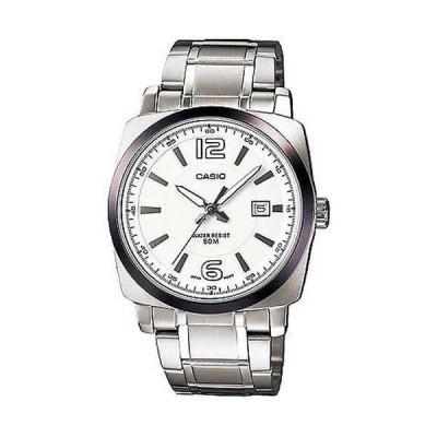 腕時計 カシオ Casio メンズ Core MTP1339D-7AV シルバー ステンレス-スチール クォーツ 腕時計
