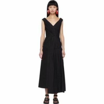 マルニ Marni レディース ワンピース ワンピース・ドレス Black Drape Dress Black