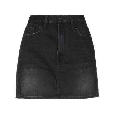 フレームデニム FRAME デニムスカート ブラック 28 コットン 100% デニムスカート