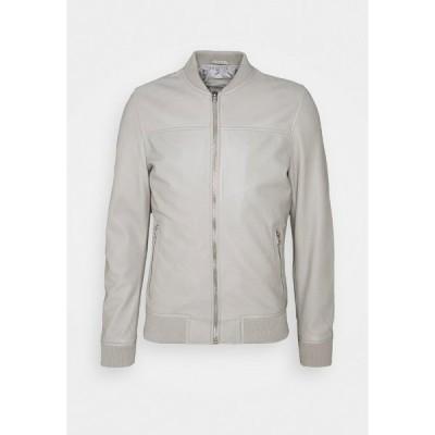 グースクラフト ジャケット&ブルゾン メンズ アウター BOCHUM - Leather jacket - grey
