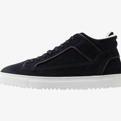 メンズ 靴 シューズ High-top trainers - blueberry