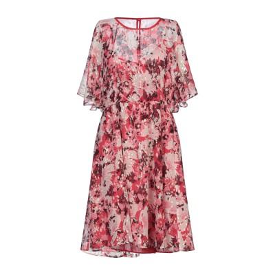 MAX & CO. ミニワンピース&ドレス レッド 40 シルク 92% / 金属繊維 8% ミニワンピース&ドレス