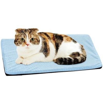 犬 猫 夏用ベッド 洗える ペティオ クールファイバーマット ひんやり快適 S すぐ乾く 通気性抜群 心地よい弾力 Petio
