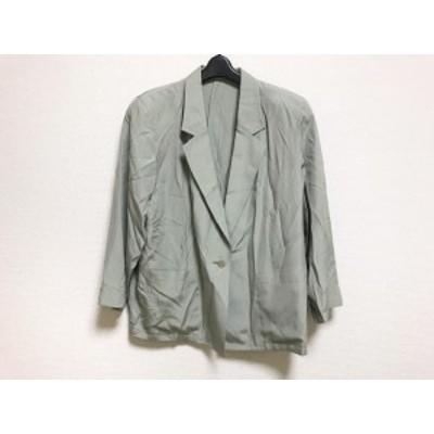 バンベール VINVERT ジャケット レディース 美品 ライトグリーン 春・秋物【中古】