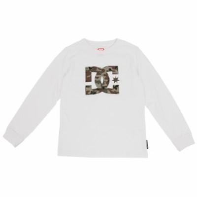 ディーシー・シュー(DC SHOE)ジュニア 19 KD STAR LS Tシャツ 長袖 ロゴ クルーネック 7425J988…
