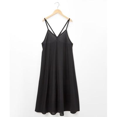 後クロス キャミワンピース・サロペットスカート (ロング丈・マキシ丈スカート)Skirts