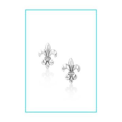 Mignon Faget Fleur de Lis Cufflinks Sterling Silver【並行輸入品】