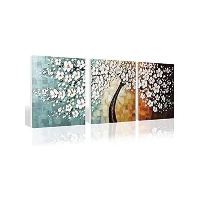 特別価格Loboo Idea Living Room Canvas Wall Decor Art, Pachira Macrocarpa Tree Wall 好評販売中
