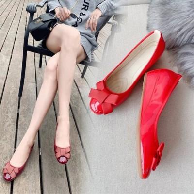 大きいサイズ走れるパンプスウェッジソールパンプス40代レディースパーディーパンプスおしゃれ ウエッジソール スリッポン 靴結婚式 二次会脚シューズ婦人靴