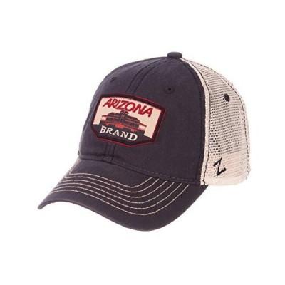 NCAA Zephyr Arizona Wildcats mens Trademark Relaxed Hat, Adjustable, Washed