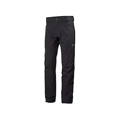 Helly-Hansen Men's Vanir Brono Breathable Hiking Pants, Ebony, X-Large