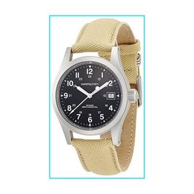 Hamilton Men's H69419933 Khaki Field Black Dial Watch【並行輸入品】