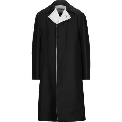 ジル サンダー JIL SANDER メンズ コート アウター coat Black