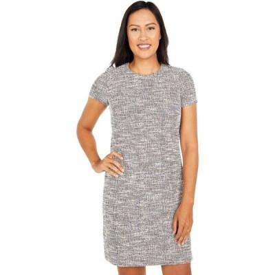 カルバンクライン Calvin Klein レディース ワンピース Tシャツワンピース ワンピース・ドレス Printed Short Sleeve T-Shirt Dress Multi