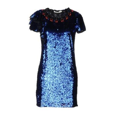 .AMEN. ミニワンピース&ドレス ブルー 40 100% ナイロン ポリ塩化ビニル ガラス ミニワンピース&ドレス