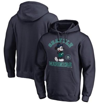シアトル・マリナーズ Fanatics Branded Disney Tradition Pullover Hoodie - Navy