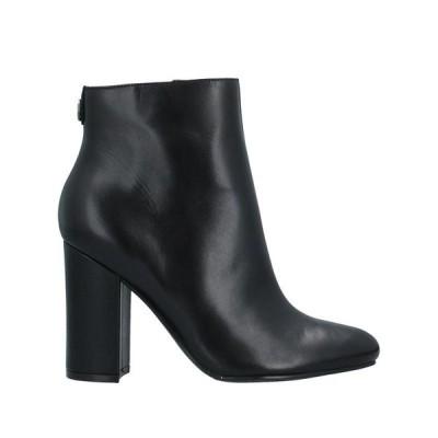 GUESS ショートブーツ ファッション  レディースファッション  レディースシューズ  ブーツ  その他ブーツ ブラック