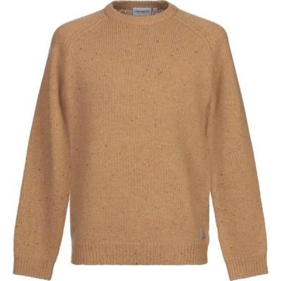 カーハート CARHARTT メンズ ニット・セーター トップス sweater Ocher