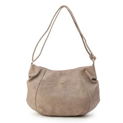 SHOO・LA・RUE / クロワッサン型タックショルダー WOMEN バッグ > ショルダーバッグ