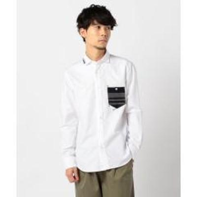 FREDY&GLOSTER(フレディアンドグロスター)オックスハンドステッチシャツ【お取り寄せ商品】