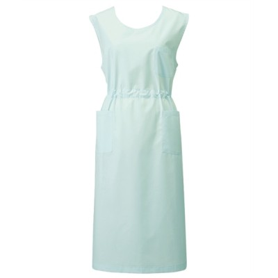 924 KAZEN 予防衣(袖なし)(男女兼用) ナースウェア・白衣・介護ウェア