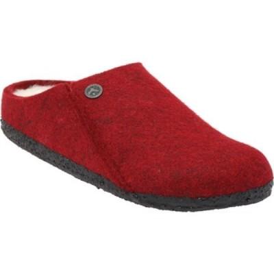 ビルケンシュトック Birkenstock レディース スリッパ シアリング シューズ・靴 Zermatt Shearling Clog Slipper Vermouth/Natural Wool