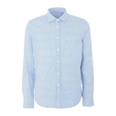 OBVIOUS BASIC シャツ ホワイト 40 コットン 97% / ポリウレタン 3% シャツ