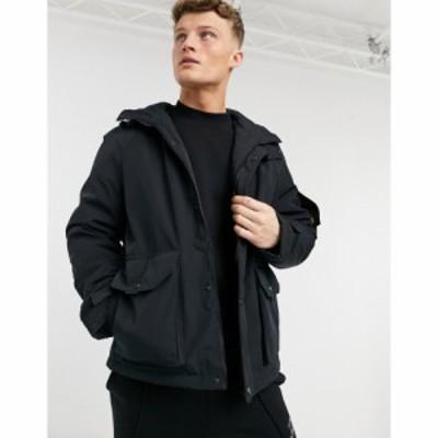 エスプリ Esprit メンズ コート アウター Heavyweight Parka In Black ブラック