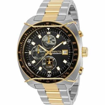 腕時計 インヴィクタ インビクタ Invicta U.S. Army Chronograph Quartz Men's Watch 31842