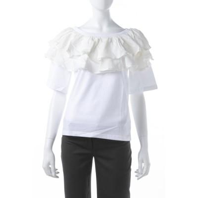 クロエ Chloe Tシャツ 半袖 丸首 クルーネック レディース 17AJH92 17A080 ホワイト