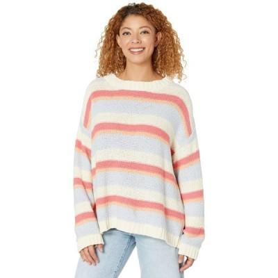 ビラボン ニット&セーター アウター レディース Lost Paradise Sweater Guava